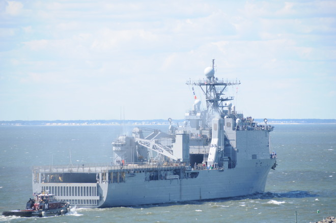 Navy to Send Two Amphibious Ships to the Philippines