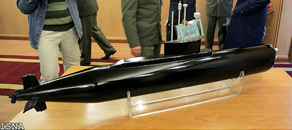Iran Launches New Submarine Class