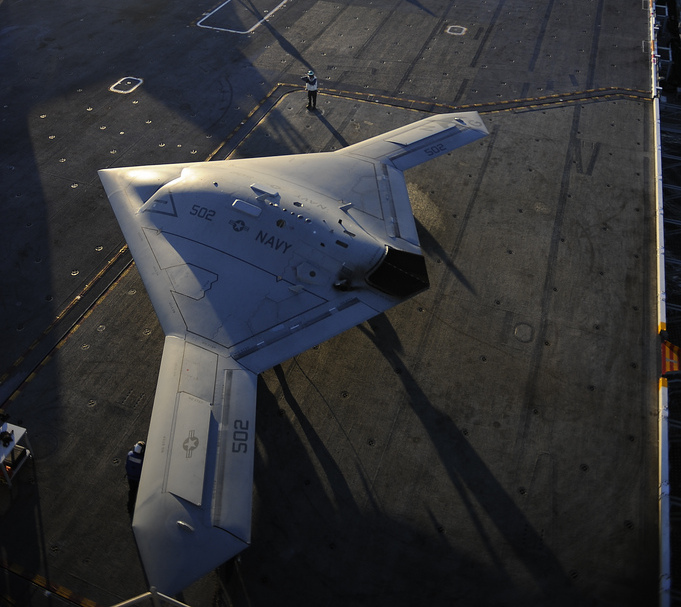 The X-47B