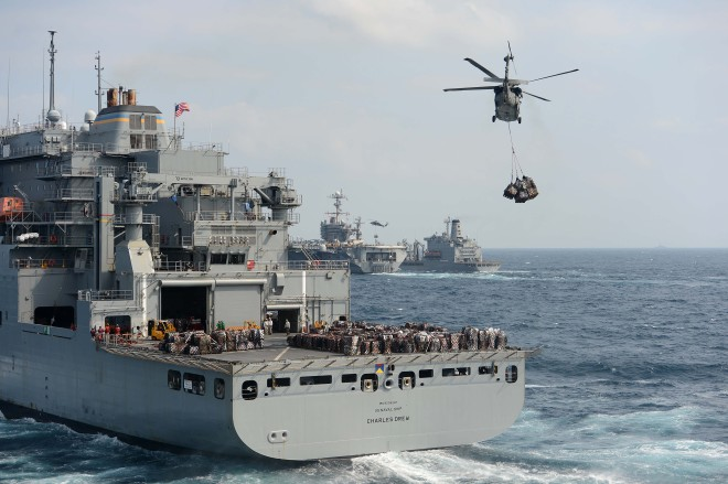 Navy and Marines Heading to Philippines for Disaster Relief