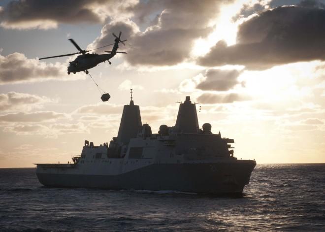 USS New York Departs Norfolk for New Homeport