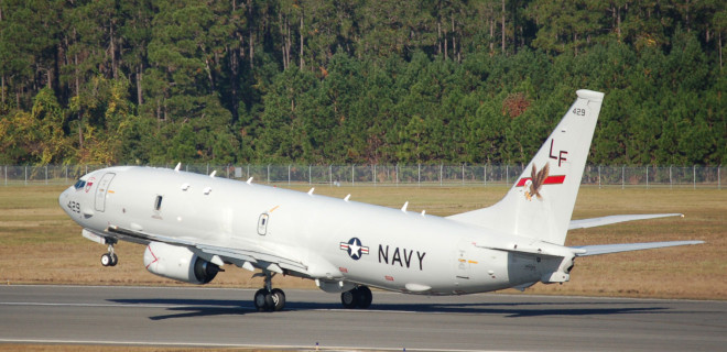 First Navy P-8As Arrive in Okinawa