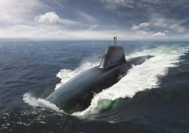 U.K. MoD Releases First Images of Royal Navy's New Boomers