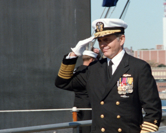 Former Naval Reactors, USNA Superintendent McKee Dead at 84