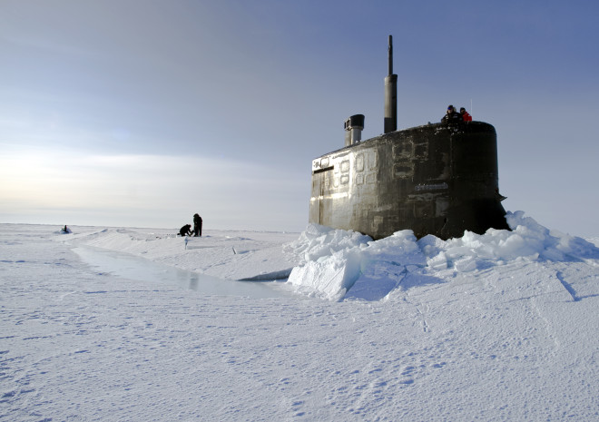 Navy May Deploy Surface Ships to Arctic This Summer as Shipping Lanes Open Up