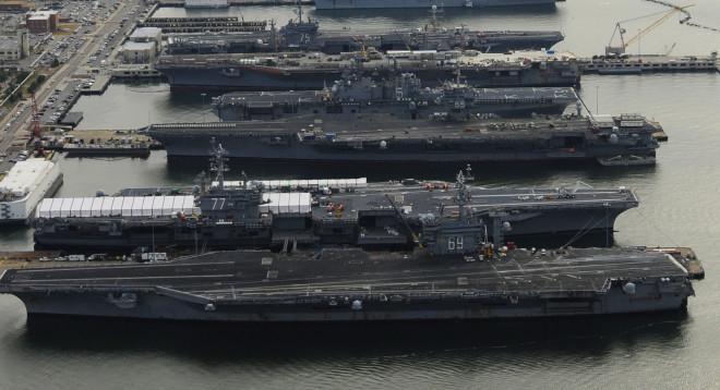 House Members Push Against Rumored U.S. Carrier Cut