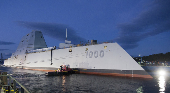 SNA 2014: Navy Pressing Ahead with Zumwalt