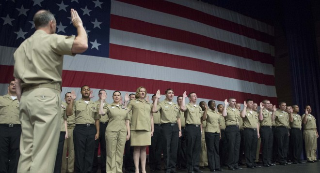 Navy and Marines Foresee Recruitment Difficulties