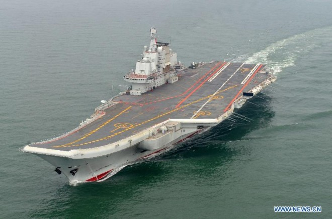 Chinese Carrier Completes Training Mission