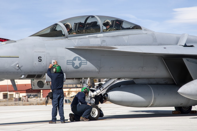 Super Hornet Tests New Infrared Air to Air Targeting Sensor