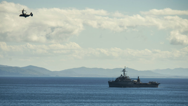 U.S. Navy Shuffle Japan-based Minesweepers and Amphibious Ship