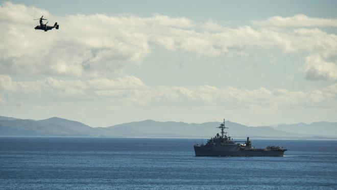 U.S. Navy Shuffle Japan-based Minesweepers and Amphibious Ship