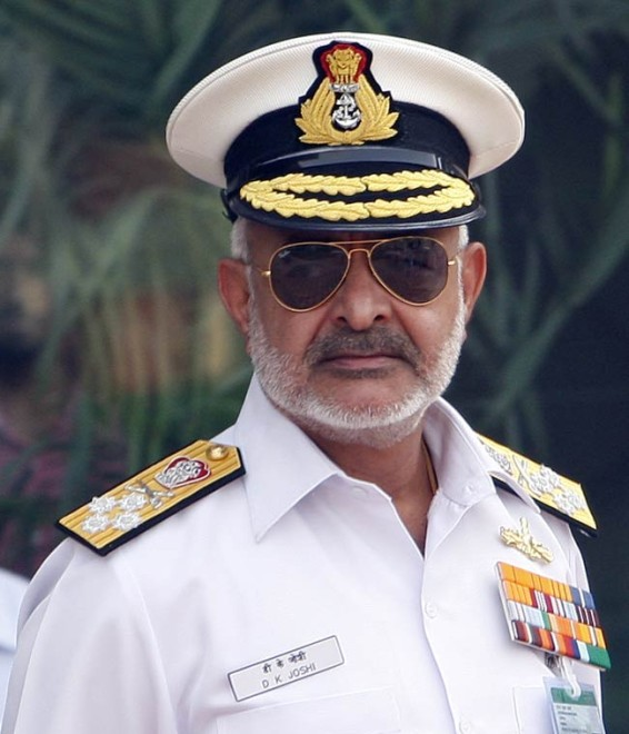 India's Navy Chief Resigns Over String of Accidents