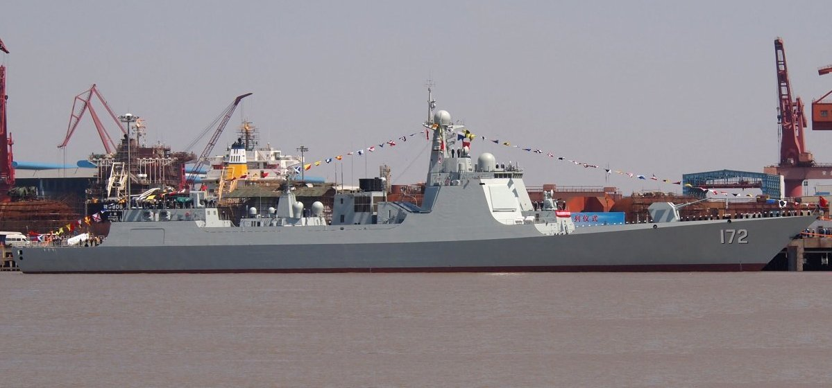 An undated photo of Luyang III guided missile destroyer, Kunming. PLAN Photo