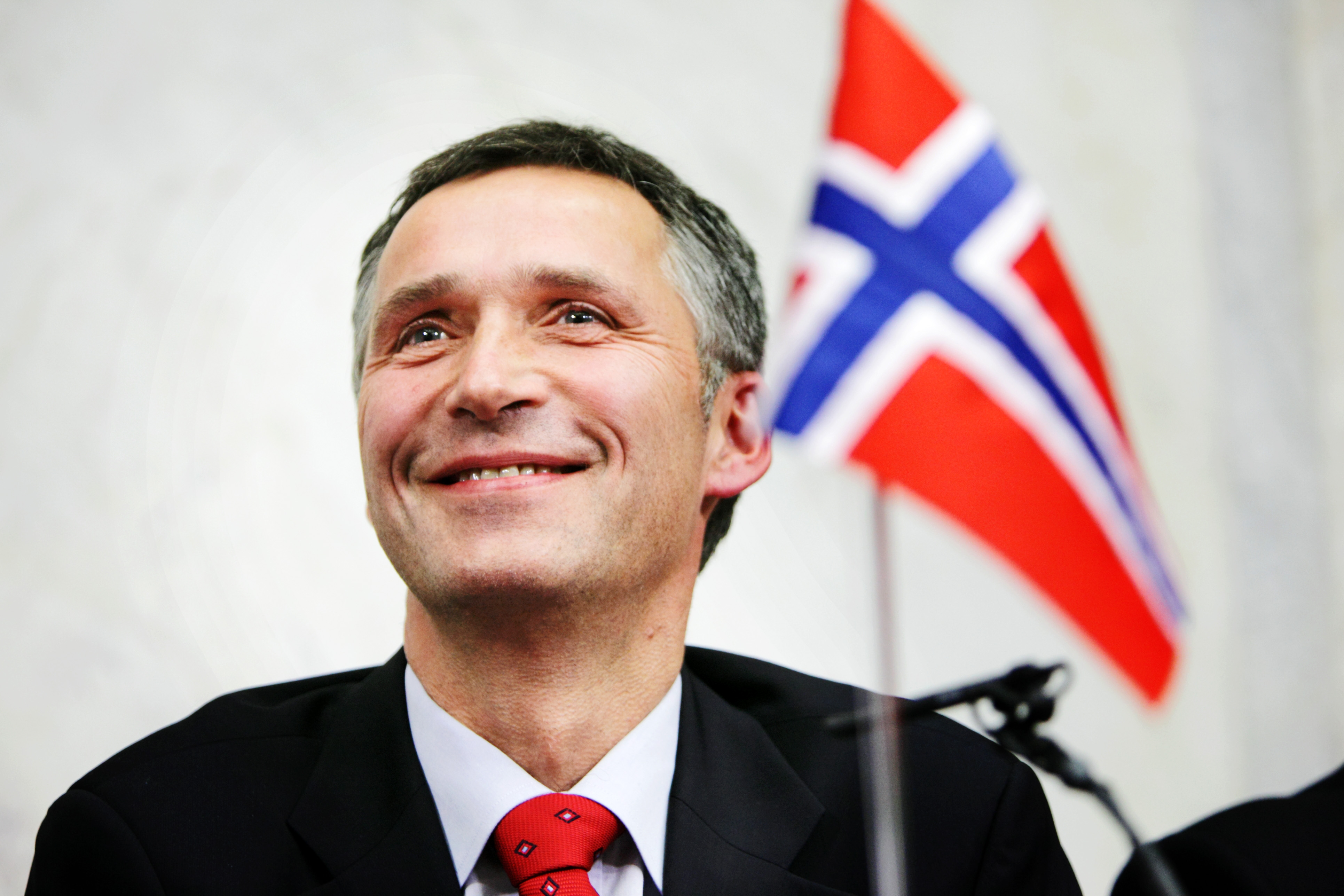 Jens Stoltenberg in 2009.