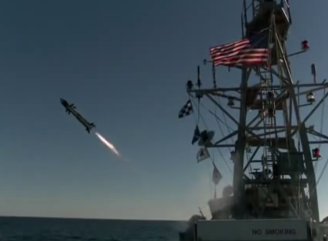 Griffin Missile Reaches Initial At Sea Operating Capability