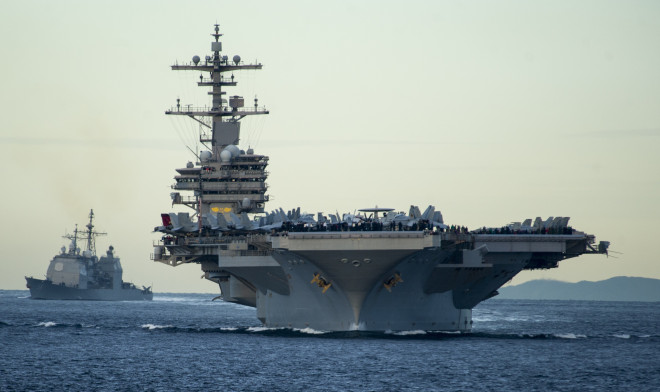 U.S. Pacific Commander Defends 11 Carrier Navy