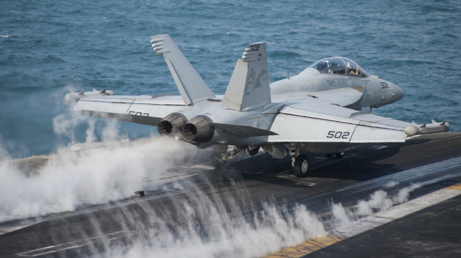 Navy Wants More Growlers to Fight a Deadlier High End Air War