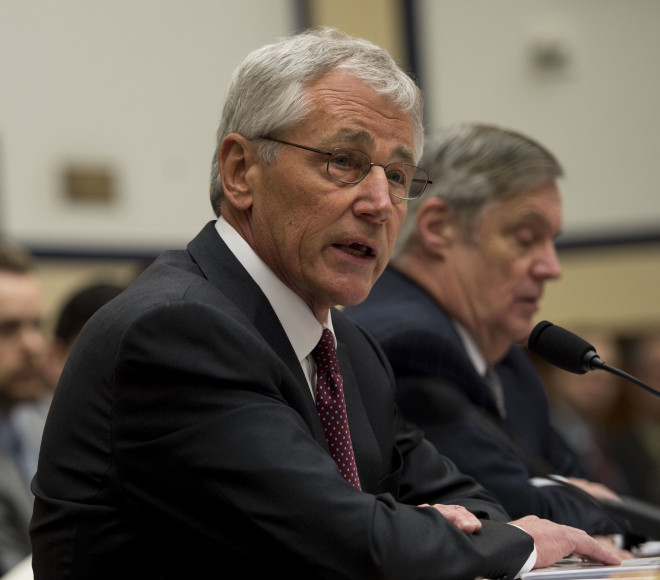 Hagel Defends Littoral Combat Ship Cap