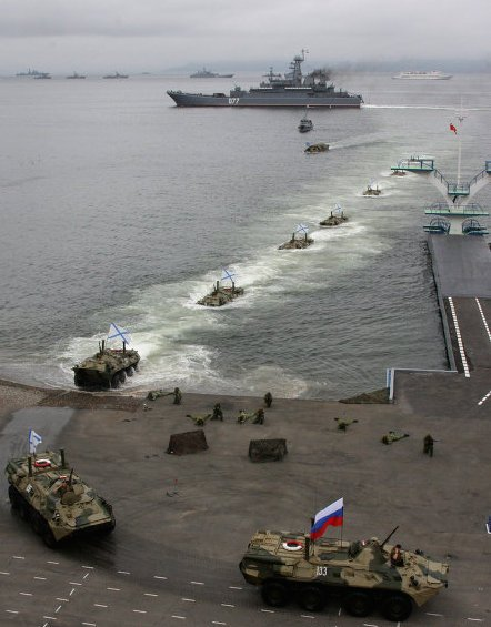 Russian Amphibious Forces. RIA Novosti Photo