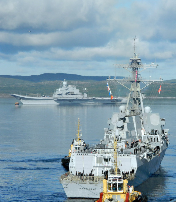Planning for Joint U.S. and Russia Naval Exercise On Hold Pending Outcome in Crimea