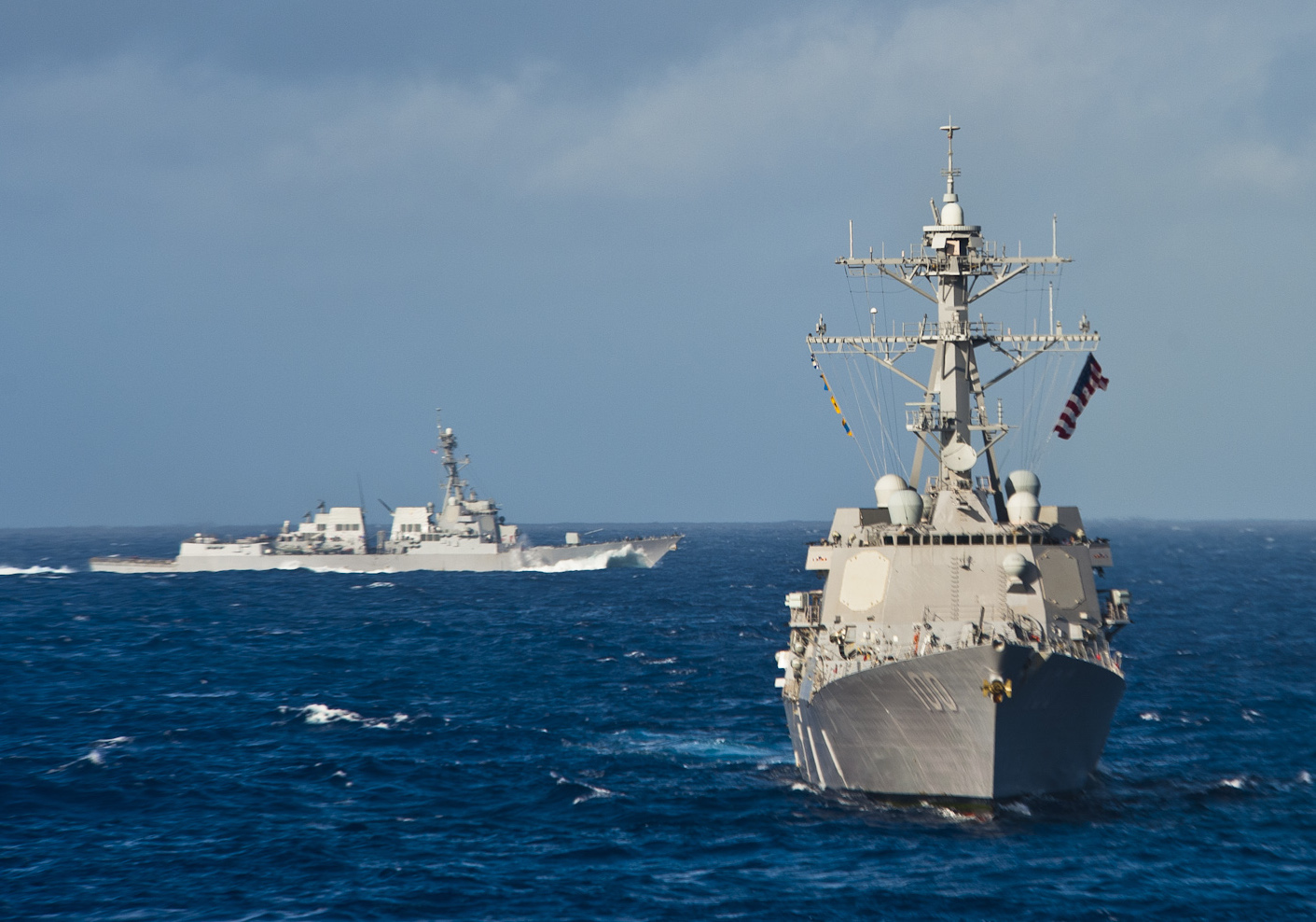 USS Kidd (DDG-100) in 2012. US Navy Photo