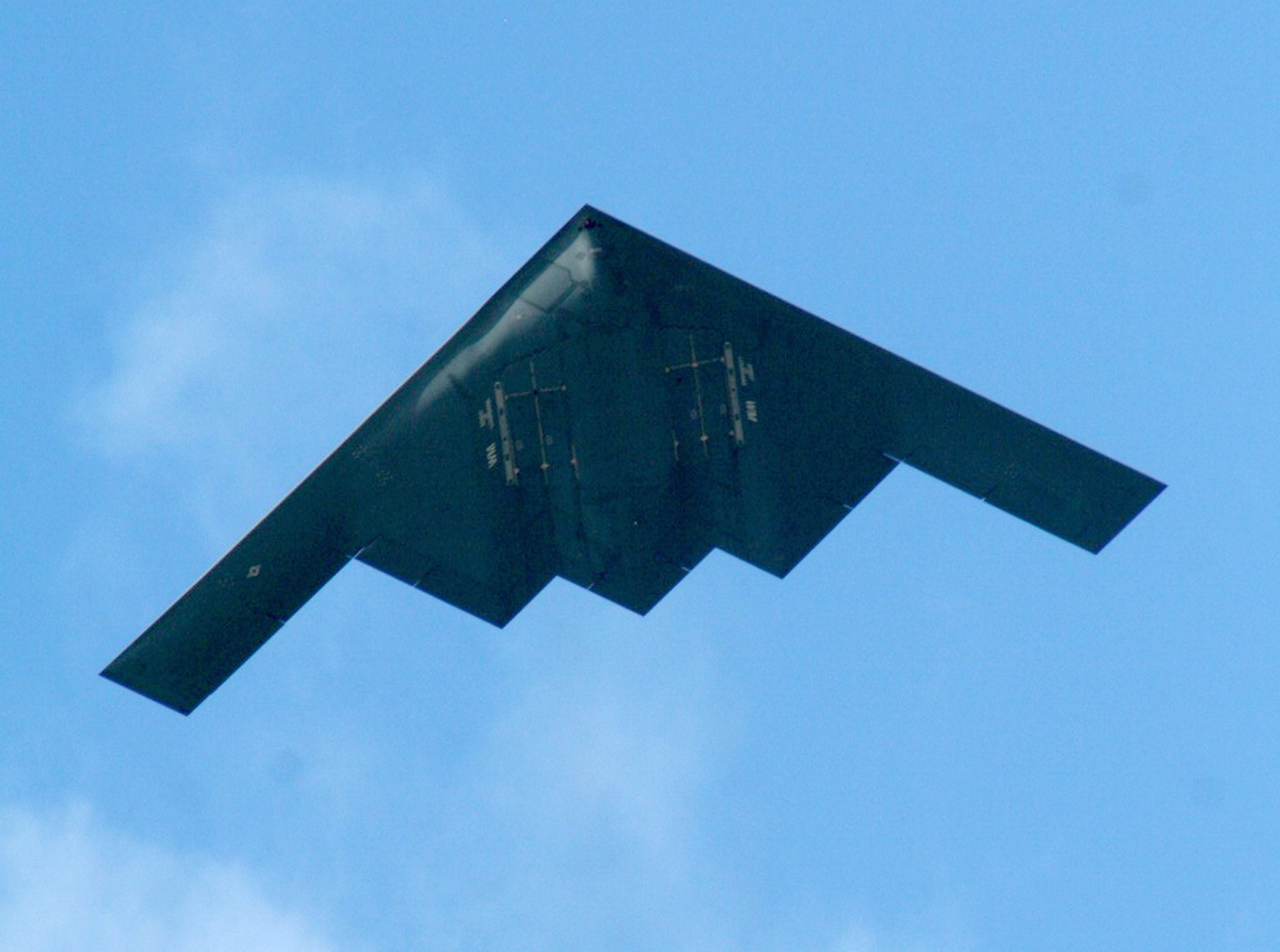 A B-2 in 2010. US Air Force Photo