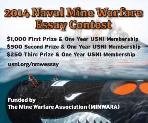 2014 Naval Mine Warfare Essay Contest
