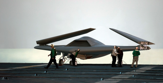 Pentagon Unmanned Review Set to Inform UCLASS Bid