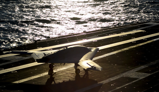 Navy's Unmanned Carrier Landing Wins Collier Trophy