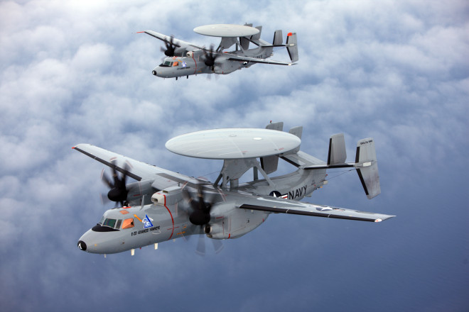 Northrop Grumman Awarded $3.64 billion E-2D Advanced Hawkeye Contract
