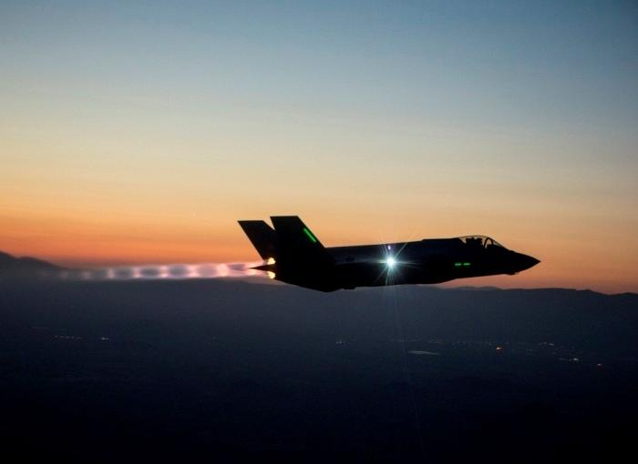 A F-35 A Joint Strike Fighter. Lockheed Martin Photo