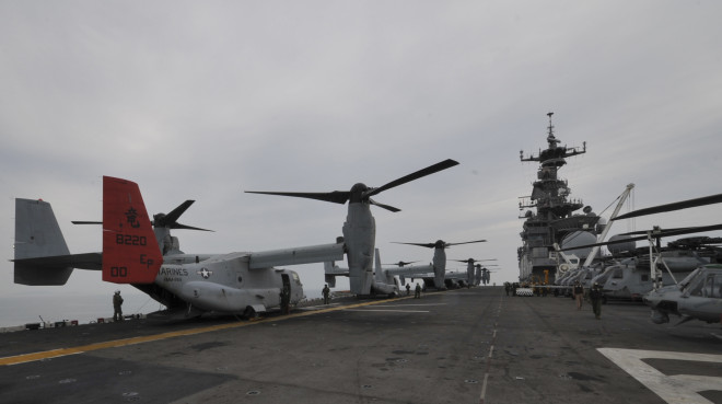 U.S. Sends Amphib to Assist in South Korean Ferry Disaster