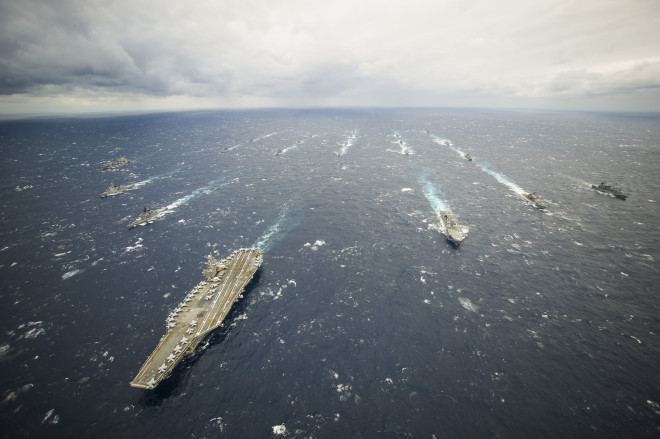 Navy Stands Firm on Supply-Based Carrier Presence Model, Joint Forces Will Cover Gaps