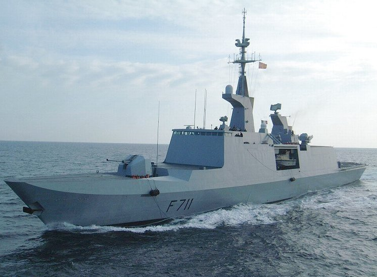 An undated photo of French Navy Frigate Surcouf.