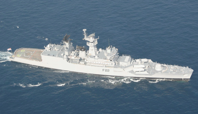 Fire Breaks Out On Indian Frigate