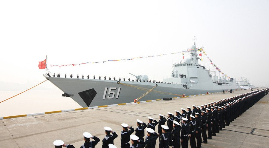 Type-052C Luyang II destroyer Zhengzhou