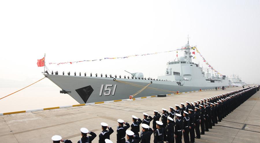 Type-052C Luyang II destroyer Zhengzhou