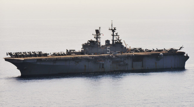 USS Bataan Enters Persian Gulf, Nine U.S. Ships Now in Region