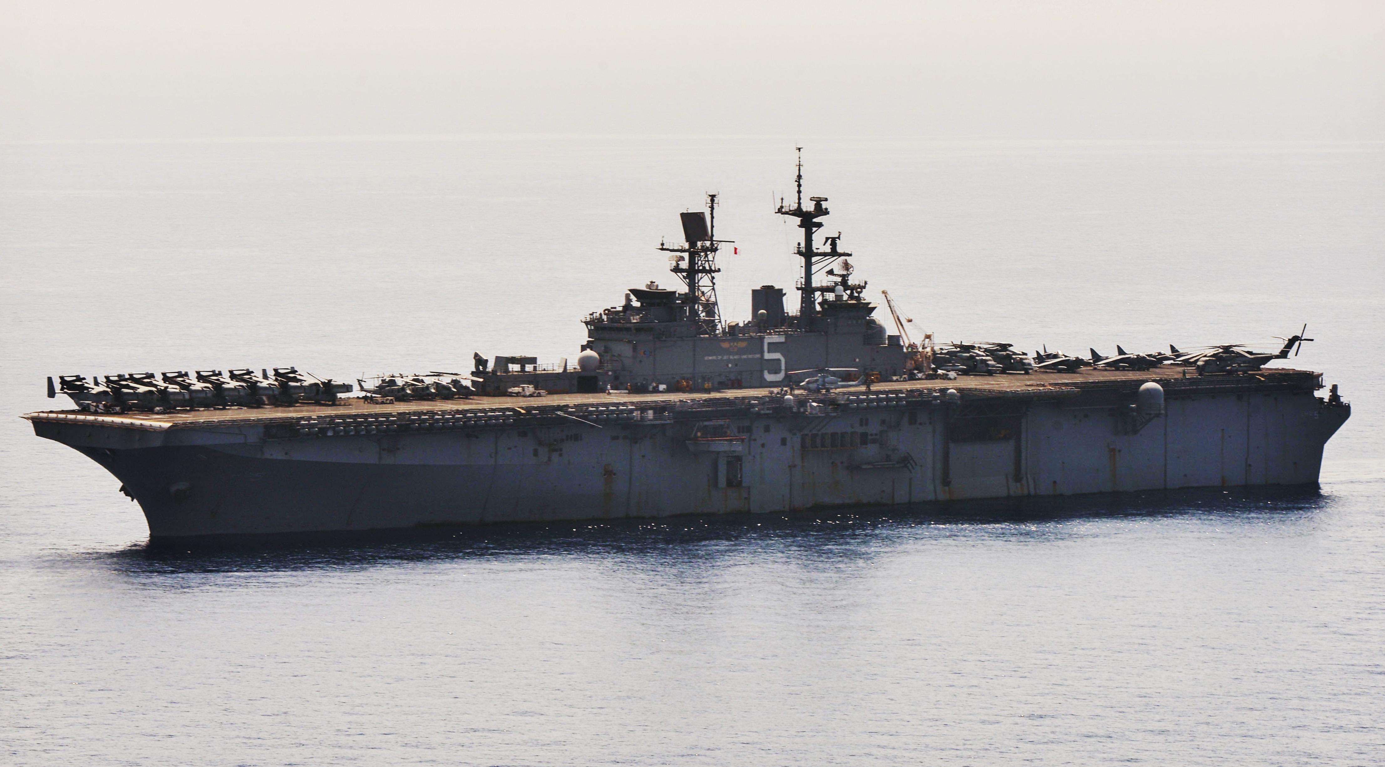 USS Bataan (LHD-5) on May 15, 2014. US Navy Photo