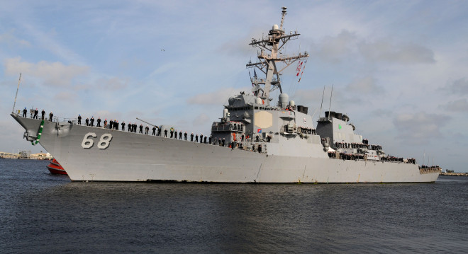 Navy Quietly Downscales Destroyer Upgrades
