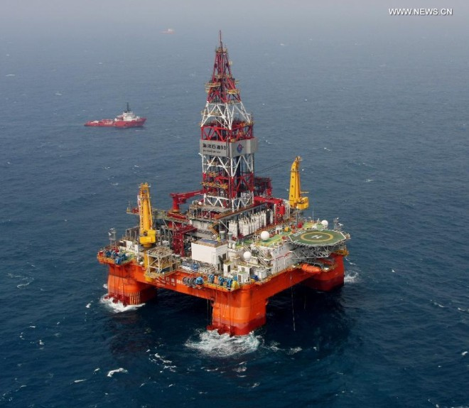 China Claims U.S. Is Encouraging 'Dangerous and Provocative Actions' in Oilrig Standoff