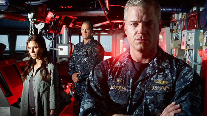 A promotional photo for the new TNT show, The Last Ship. TNT Photo
