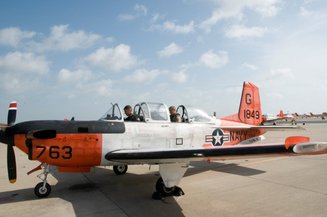 Navy Training Aircraft Crashes in Gulf of Mexico