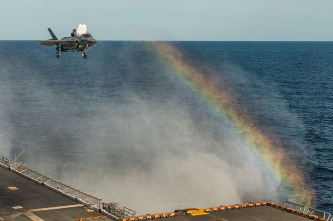 Marine Joint Strike Fighter on Track to Meet 2015 Goal