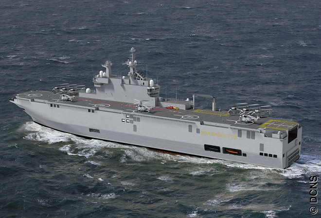 Russian Sailors Arrive in France for Mistral Training