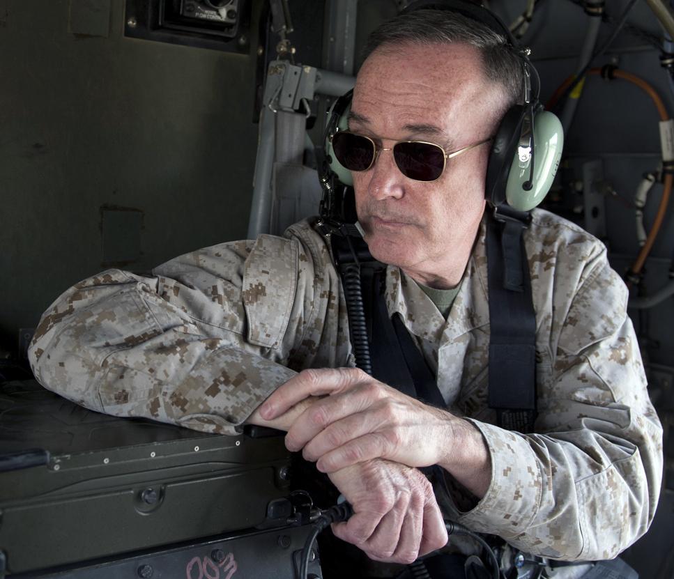 ISAF Commander Gen. Joseph F. Dunford, Jr. in 2013. DoD Photo.