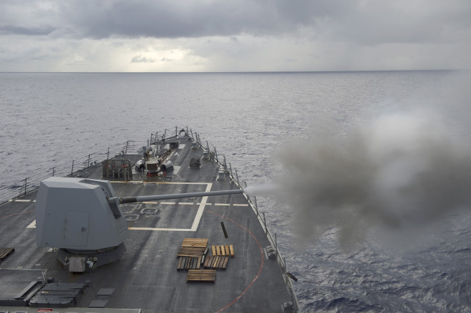 Navy Taking a Second Look at A Five-Inch Guided Round