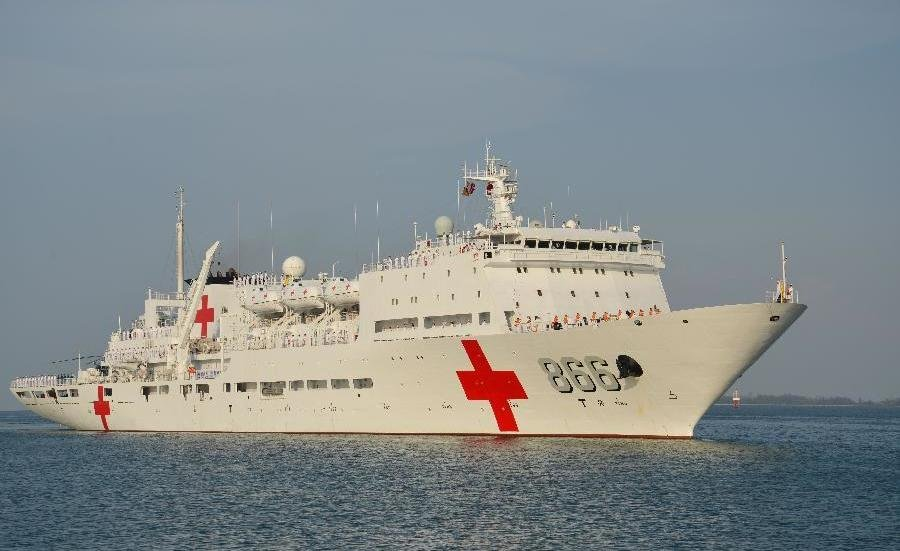 Peace ark onboard chinas hospital ship usni news chinese hospital ship peace ark xinhua photo stopboris Images