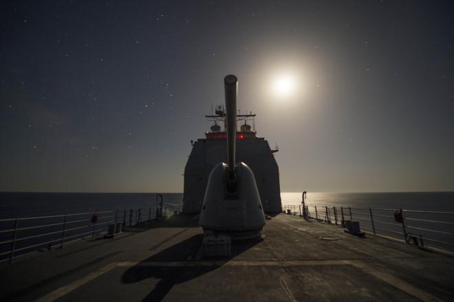 U.S. Cruiser Leaves Black Sea, Several NATO Ships Remain